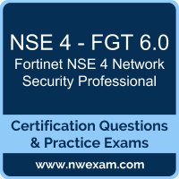 NSE 4 Network Security Professional Dumps, NSE 4 Network Security Professional PDF, Fortinet NSE 4 - FortiOS 6.0 Dumps, NSE 4 - FGT 6.0 PDF, NSE 4 Network Security Professional Braindumps, NSE 4 - FGT 6.0 Questions PDF, Fortinet Exam VCE, Fortinet NSE 4 - FGT 6.0 VCE, NSE 4 Network Security Professional Cheat Sheet