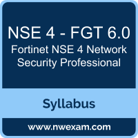 NSE 4 - FGT 6.0 Syllabus, NSE 4 Network Security Professional Exam Questions PDF, Fortinet NSE 4 - FGT 6.0 Dumps Free, NSE 4 Network Security Professional PDF, NSE 4 - FGT 6.0 Dumps, NSE 4 - FGT 6.0 PDF, NSE 4 Network Security Professional VCE, NSE 4 - FGT 6.0 Questions PDF, Fortinet NSE 4 Network Security Professional Questions PDF, Fortinet NSE 4 - FGT 6.0 VCE