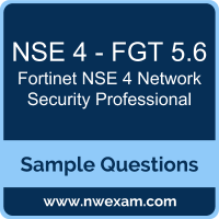 NSE 4 Network Security Professional Dumps, NSE 4 - FGT 5.6 Dumps, Fortinet NSE 4 - FortiOS 5.6 PDF, NSE 4 - FGT 5.6 PDF, NSE 4 Network Security Professional VCE, Fortinet NSE 4 Network Security Professional Questions PDF, Fortinet Exam VCE, Fortinet NSE 4 - FGT 5.6 VCE, NSE 4 Network Security Professional Cheat Sheet