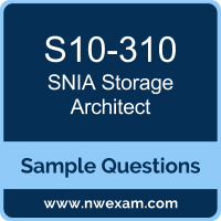 Storage Architect Dumps, S10-310 Dumps, SNIA SCSA PDF, S10-310 PDF, Storage Architect VCE, SNIA Storage Architect Questions PDF, SNIA Exam VCE, SNIA S10-310 VCE, Storage Architect Cheat Sheet