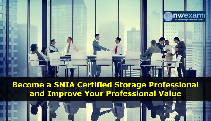 How to get SNIA certification