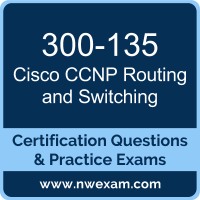 300-135: Troubleshooting and Maintaining Cisco IP Networks (TSHOOT)
