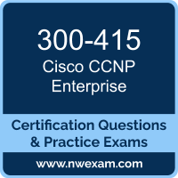 300-415: Implementing Cisco SD-WAN Solutions (ENSDWI