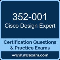 352-001: CCDE Design Written Exam (CCDE)