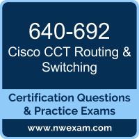 640-692: Supporting Cisco Routing & Switching Network Devices (RSTECH)
