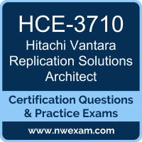 HCE-3710: Hitachi Vantara Replication Solutions Architect Expert