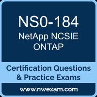 NS0-184: NetApp Storage Installation Engineer ONTAP (NCSIE)