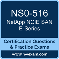 NS0-516: NetApp Implementation Engineer SAN Specialist E-Series (NCIE)
