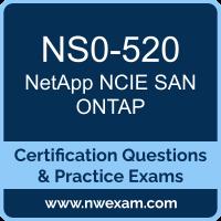 NS0-520: NetApp Implementation Engineer SAN Specialist, ONTAP (NCIE)