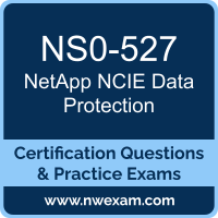 NS0-527: NetApp Implementation Engineer Data Protection Specialist (NCIE-DPS)