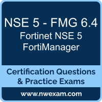 NSE 5 - FMG 6.4: Fortinet NSE 5 - FortiManager 6.4 (NSE 5 Network Security Analy